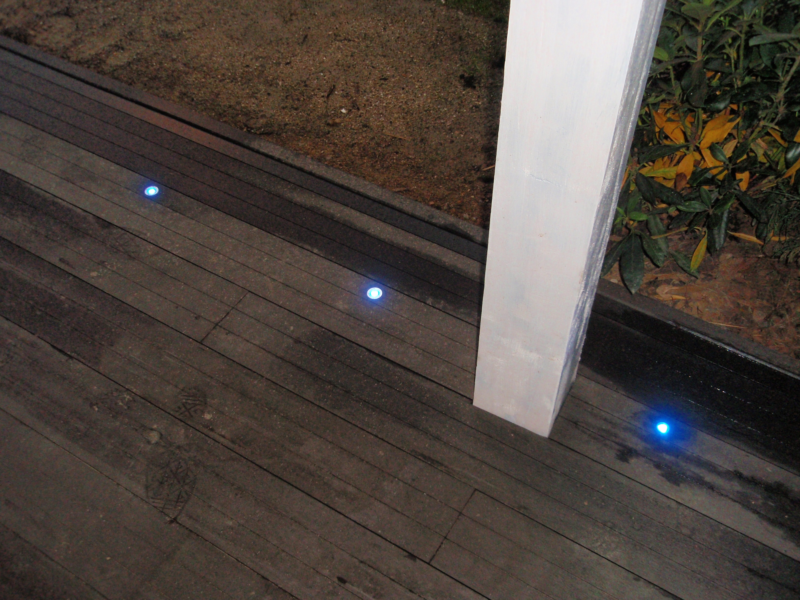 Led karkace for Eclairage terrasse led